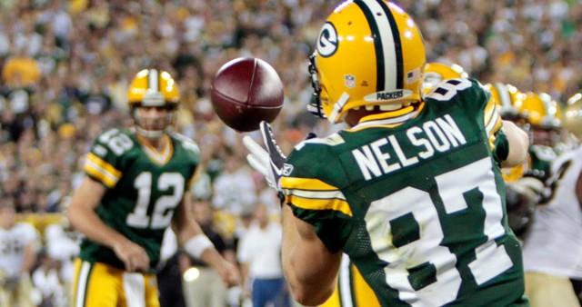 Saints Packers Football