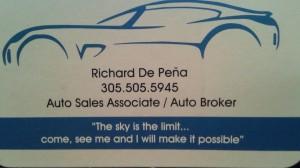 RICHARD DE PENA AUTO SALES