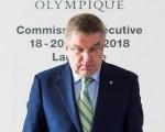 El presidente del Comité Olímpico Internacional (COI), el alemán Thomas Bach. La institución deportiva decidió levantar provisionalmente la suspensión que pesa sobre Kuwait. (EFE Jean-Christophe Bott)