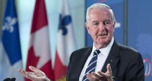 El presidente de la Agencia Mundial Antidopaje Craig Reedie. (Ryan RemiorzThe Canadian Press via AP)